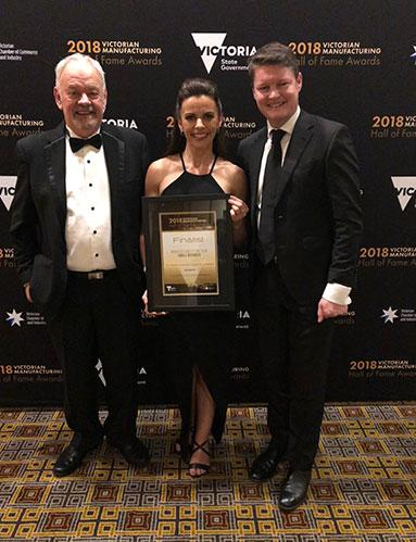 2018 Victorian Manufacturing Hall of Fame Finalist - Smallaire
