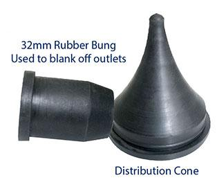 Smallaire Airflow Cone and Bung